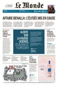 Le Monde du Vendredi 20 Juillet 2018