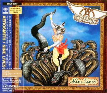 Aerosmith - Nine Lives (1997) {Japan 1st Press}