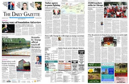 The Daily Gazette – October 18, 2019