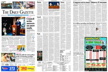 The Daily Gazette – December 17, 2019
