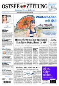 Ostsee Zeitung Wolgast - 15. Februar 2019