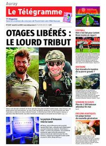 Le Télégramme Auray – 11 mai 2019