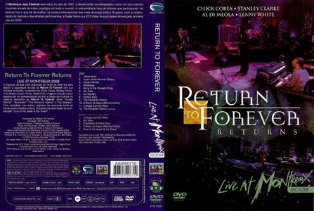 Return to Forever - Live at Montreux 2008 (2009)