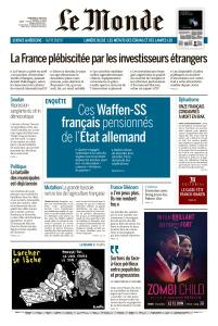 Le Monde du Mercredi 5 Juin 2019