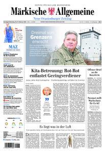 Neue Oranienburger Zeitung - 16. Februar 2019