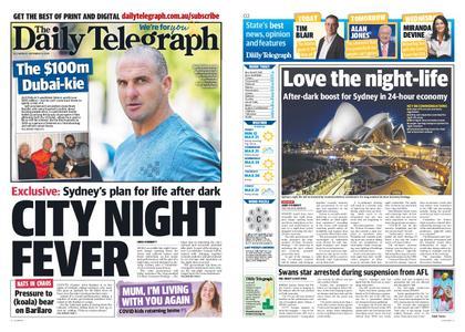 The Daily Telegraph (Sydney) – September 14, 2020
