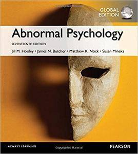 Abnormal Psychology, Global 17th Edition