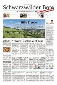 Schwarzwälder Bote Hechingen - 09. Oktober 2017