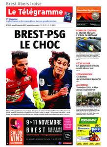 Le Télégramme Brest Abers Iroise – 09 novembre 2019