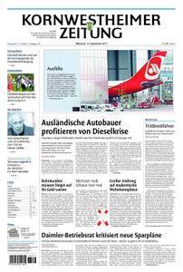 Kornwestheimer Zeitung - 13. September 2017