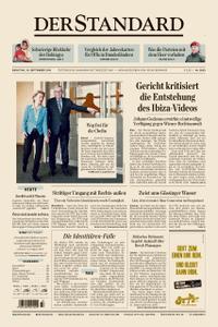 Der Standard – 10. September 2019