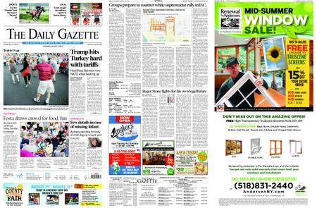 The Daily Gazette – August 11, 2018