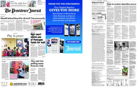 The Providence Journal – July 27, 2019
