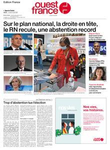 Ouest-France Édition France – 21 juin 2021