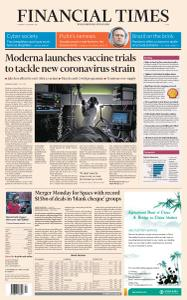 Financial Times Asia - January 26, 2021
