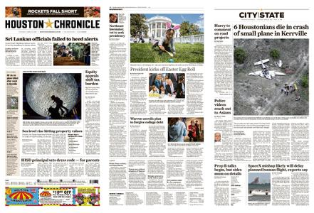 Houston Chronicle – April 23, 2019