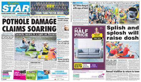 Shropshire Star Shrewsbury Edition – September 15, 2018