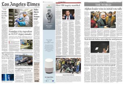 Los Angeles Times – December 23, 2019