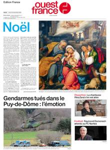 Ouest-France Édition France – 24 décembre 2020