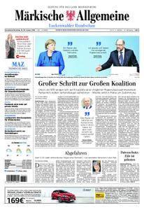 Märkische Allgemeine Luckenwalder Rundschau - 13. Januar 2018
