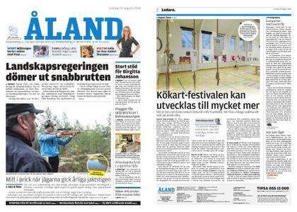 Ålandstidningen – 29 augusti 2018