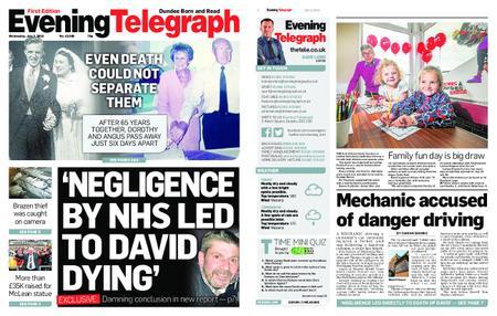 Evening Telegraph First Edition – July 03, 2019
