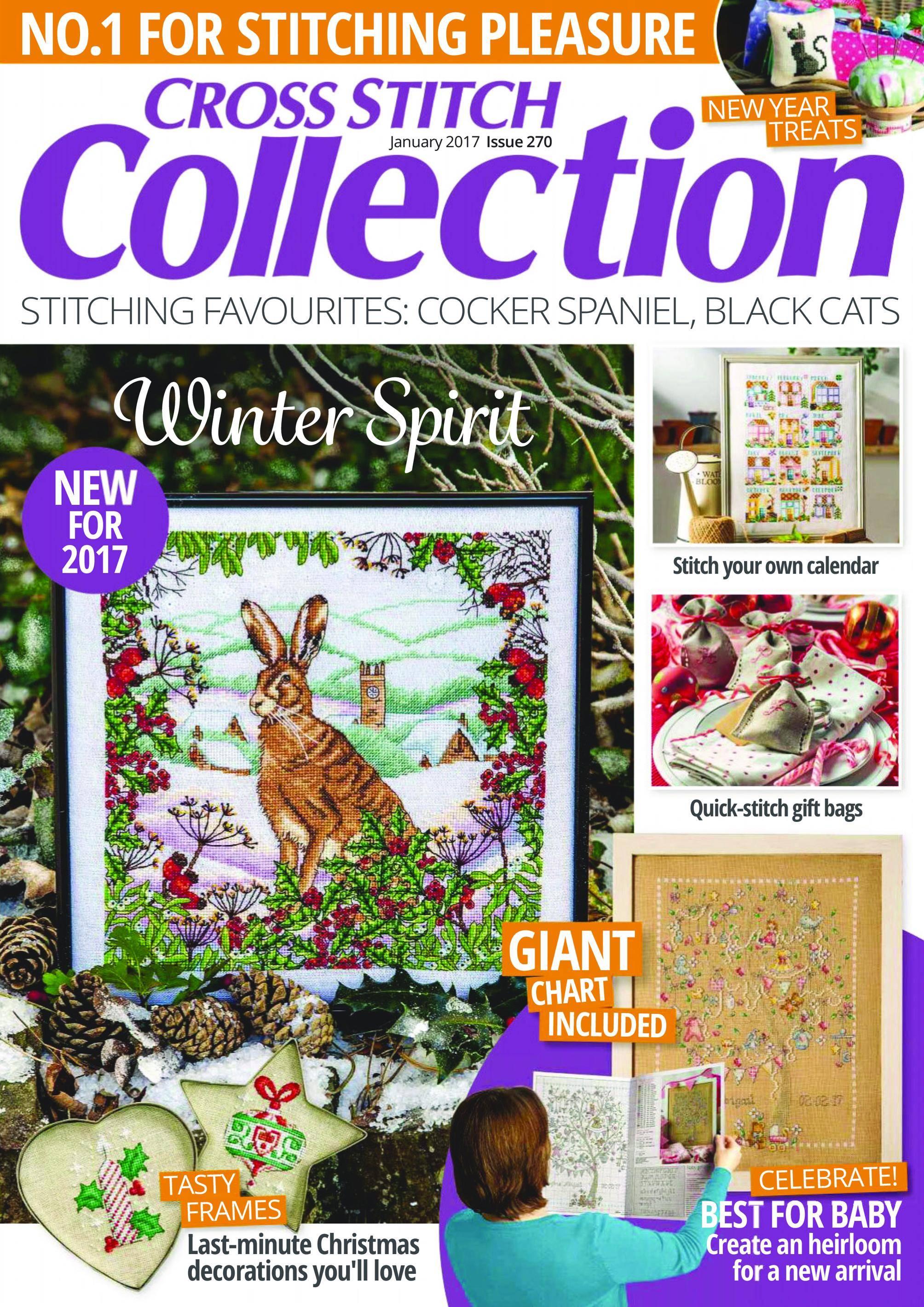 Cross Stitch Collection - January 01, 2017