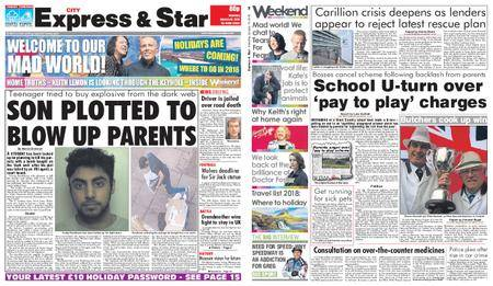 Express and Star City Edition – January 13, 2018