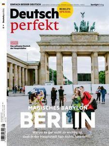 Deutsch perfekt - August 2018