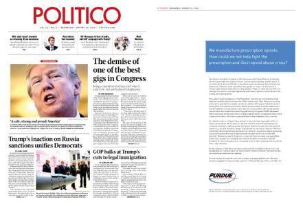 Politico – January 31, 2018