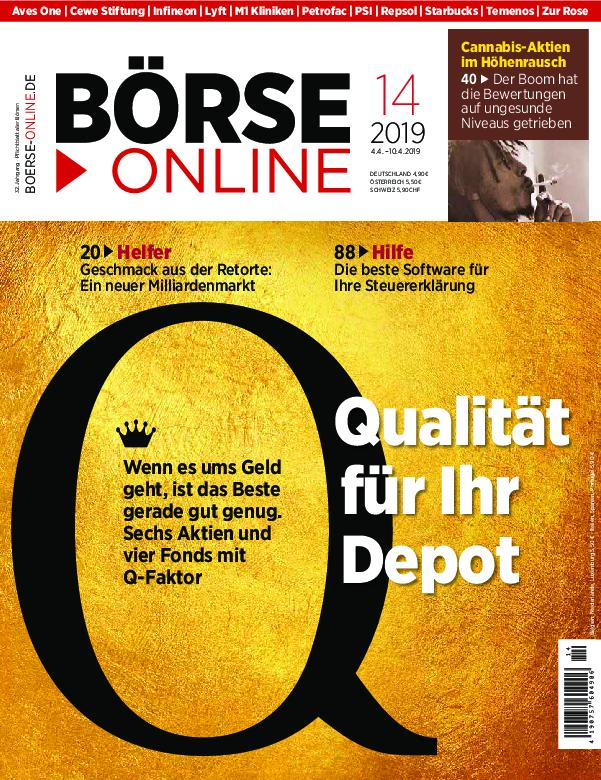 Börse Online – 04. April 2019