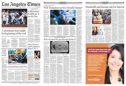 Los Angeles Times – October 21, 2020
