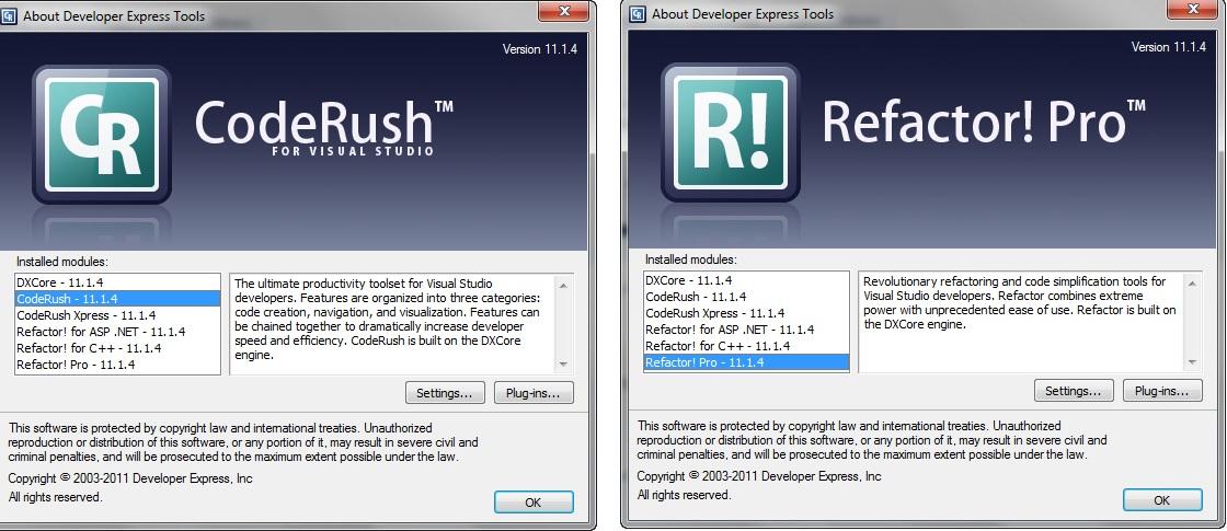 DevExpress Dxperience 2011.1.4