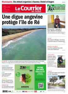 Le Courrier de l'Ouest Angers – 27 février 2020