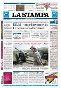 La Stampa Torino Provincia e Canavese - 6 Aprile 2018
