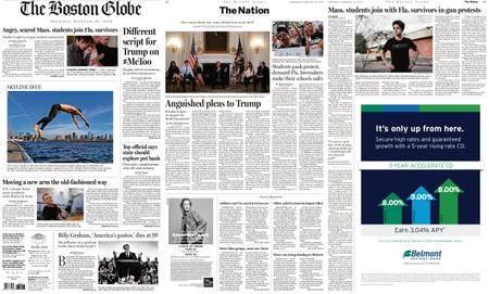 The Boston Globe – February 22, 2018
