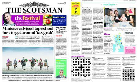 The Scotsman – August 16, 2018