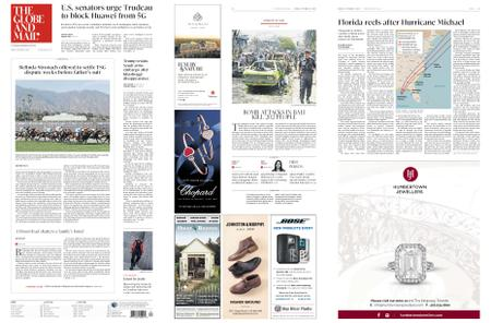 The Globe and Mail – October 12, 2018