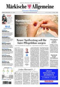 Märkische Allgemeine Zossener Rundschau - 22. Februar 2019