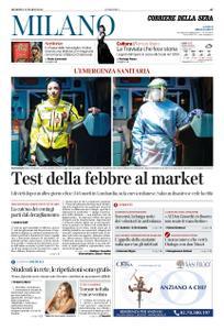 Corriere della Sera Milano – 22 marzo 2020