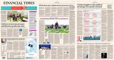 Financial Times Europe – 16 January 2018