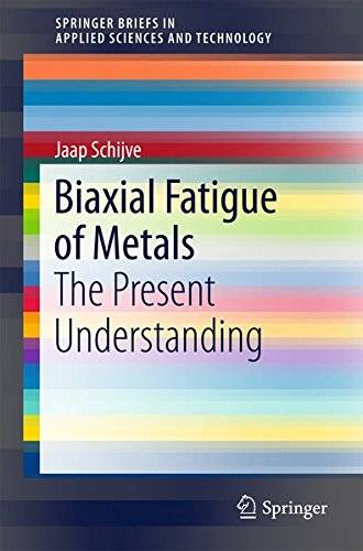 Biaxial Fatigue of Metals: The Present Understanding (SpringerBriefs in Applied Sciences and Technology)