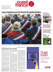 Ouest-France Édition France – 28 novembre 2020