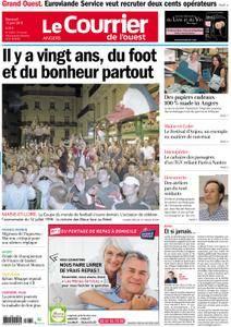 Le Courrier de l'Ouest Angers - 13 juin 2018