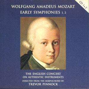 Mozart: Early Symphonies - The English Concert / Trevor Pinnock