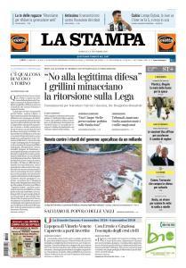 La Stampa Torino Provincia e Canavese - 4 Novembre 2018