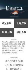 Daaron Sans Serif