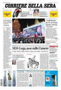 Corriere della Sera - 19 Marzo 2018