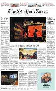 International New York Times - 17 April 2020