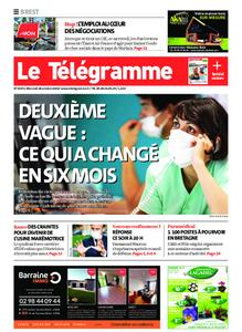 Le Télégramme Brest – 28 octobre 2020